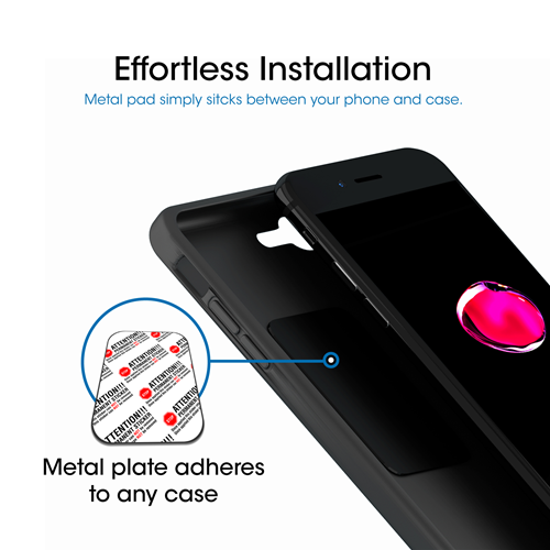 2 with Extra Strong Magnetic Grip S8 Galaxy S9 XS 8 S7 1 Pack Pixel 3 TechMatte MagGrip Universal Magnetic Air Vent Car Mount for iPhone XR